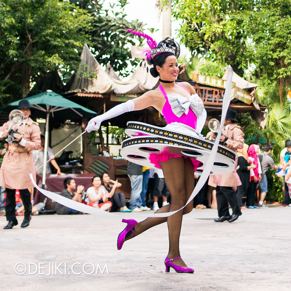 Hollywood Dreams Parade - Ribbon Dancer