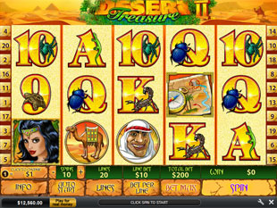 Desert Treasure 2 slot game online review
