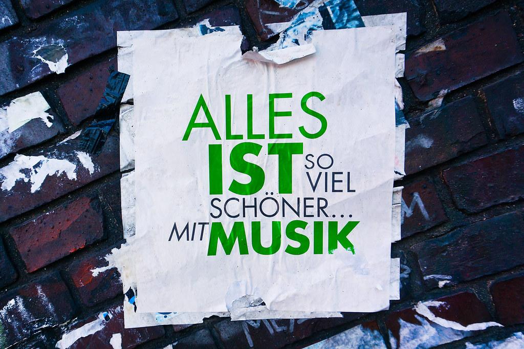 Alles ist so viel schöner mit Musik