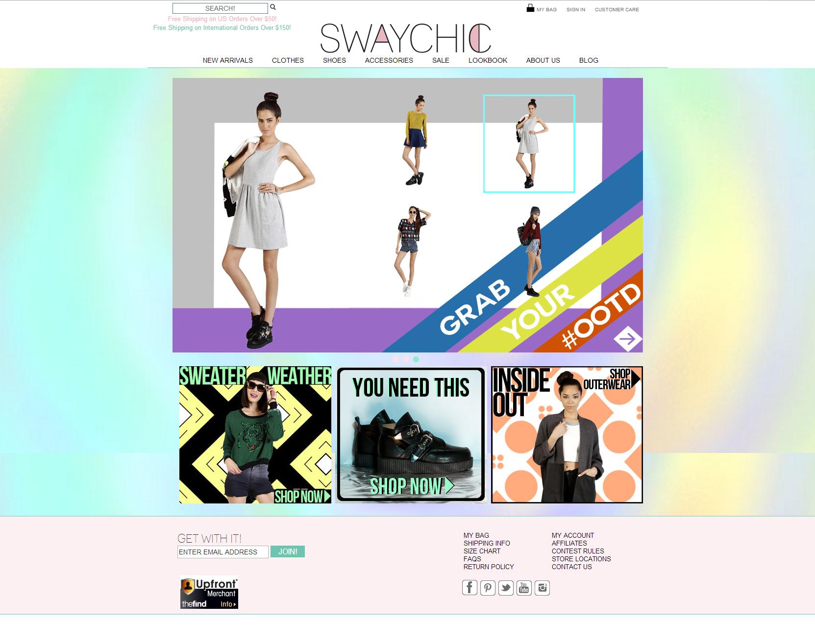 Sway Chic Online Shop