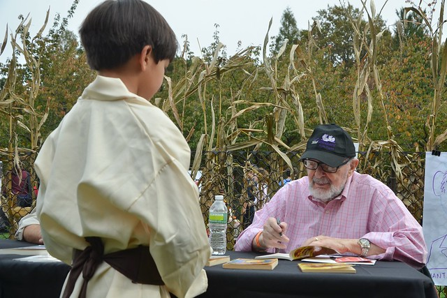 Book signing with author Robert Kimmel Smith.