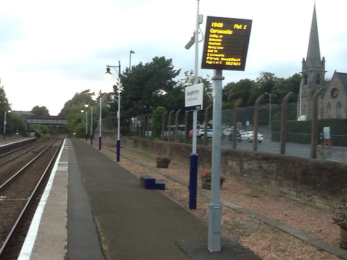 Broughty Ferry Station Platform