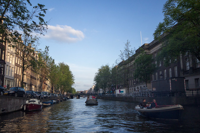 Traffic on the Canals