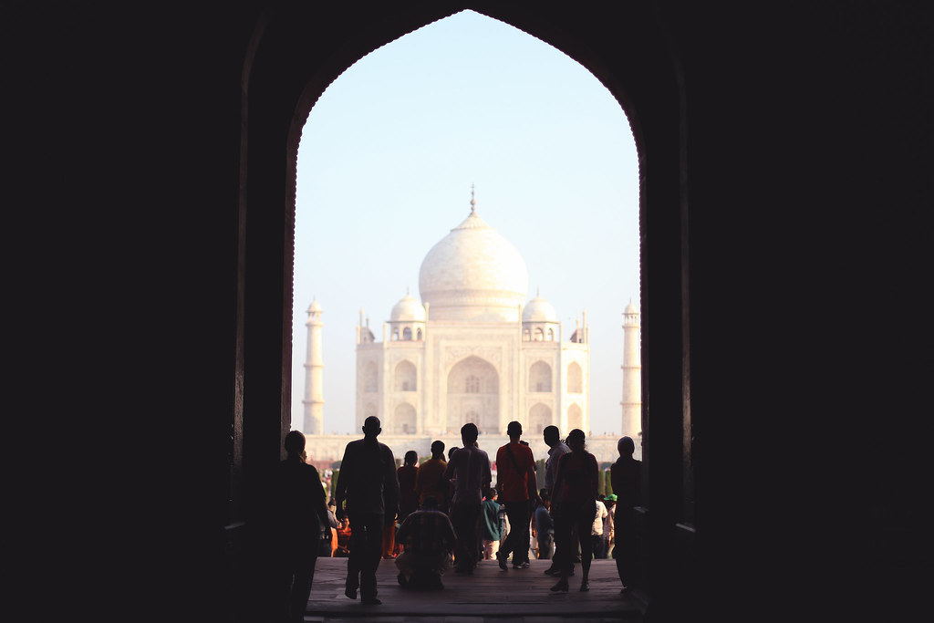 North India trip- Taj Mahal