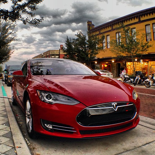 Tesla Model S #Tesla #ModelS #Florida #Sanford #ThisIsTheFuture #iphone5 #iphonesia #iphonephoto #olloclip
