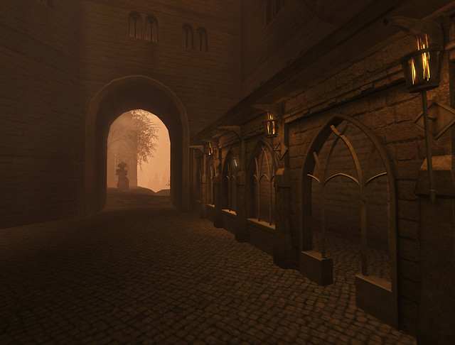Hogwarts courtyards (3)