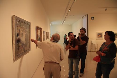 Visitando el Museo Carmen Thyssen
