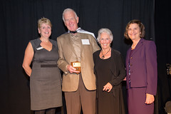 Vera LeFranc, Dick and Lois Avison and Cllr Judy Villeneuve