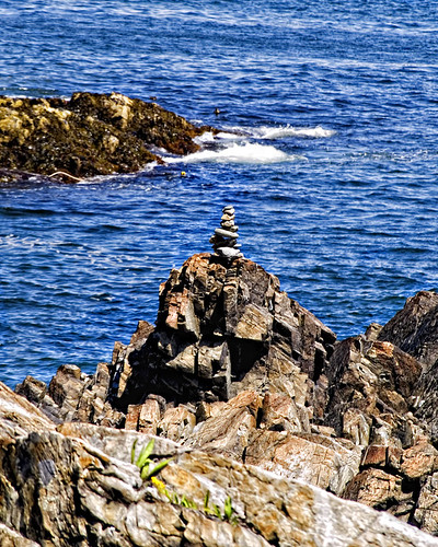 Cairns at Ogunquit, Maine