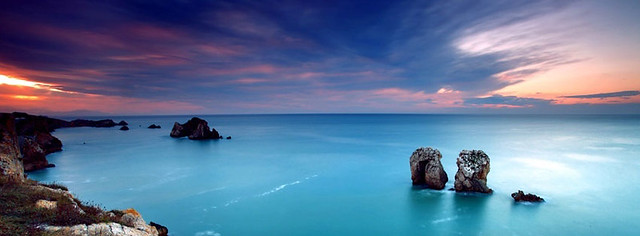 Awesome Sea And Cliffs Facebook Cover Photo