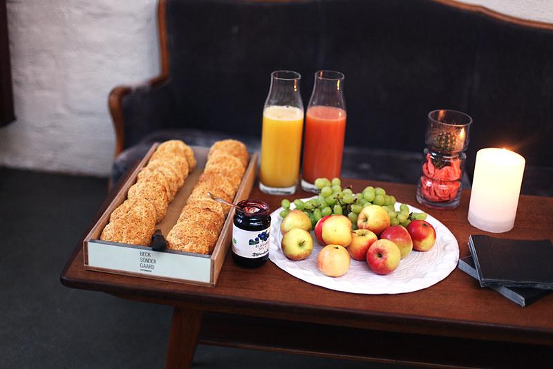 BECKSØNDERGAARD breakfast