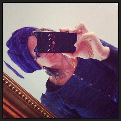 First day of the season with a hat:) Primo giorno della stagione con un cappello:)
