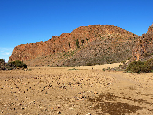 Walking in Teide National Park, Tenerife