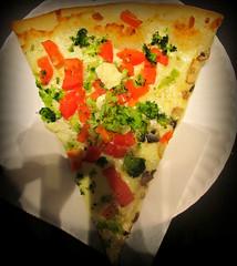 goatcheese and veggie slice