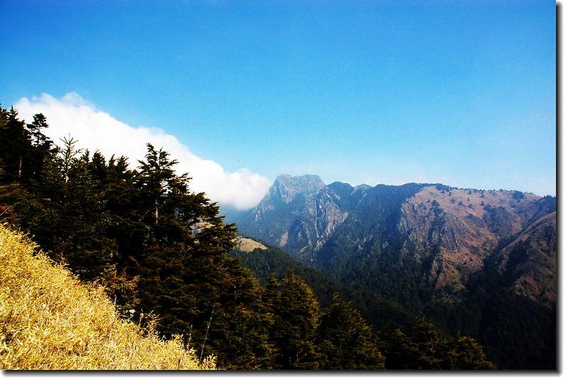 玉山東峰(From 玉山南峰東稜) 1
