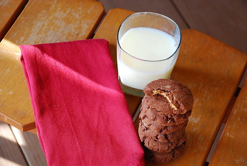 Holiday Cookie Countdown: Chocolate Peanut Butter-Stuffed Cookies