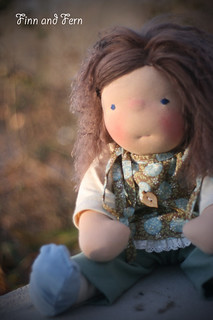 Paisley June - a 17 inch Waldorf Inspired Doll