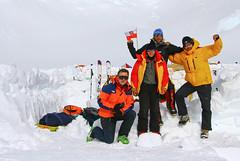 Nasza ekipa w obozie 14000 ft (4600m)