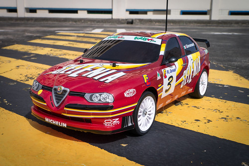 Tamiya FF02 Alfa Romeo 156 Racing 11248520836_096342bdb2
