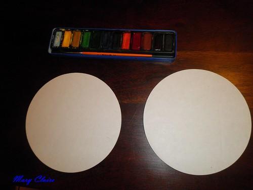 palline su cartoncini step 1