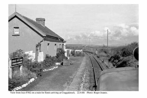 ireland blackwhite railways craggaknock