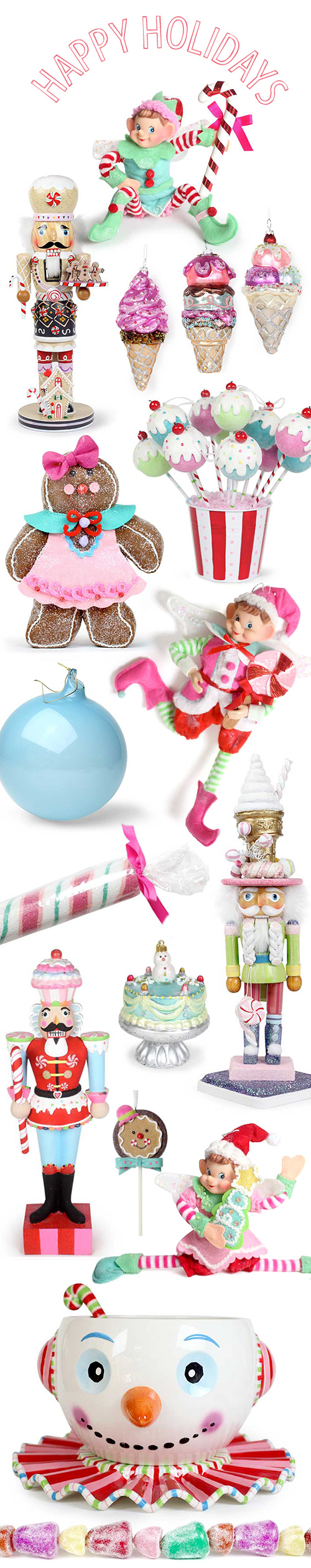 Holiday Decorations from Tinsel and Twirl