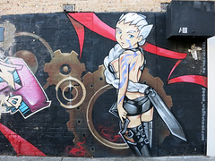 Newtown Mural by Peque VRS
