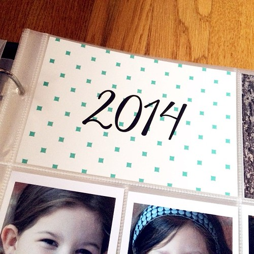 It's been a #projectlife sort of afternoon.