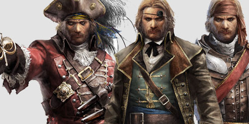 Assassin's Creed 4 DLC, The Illustrious Pirates is out