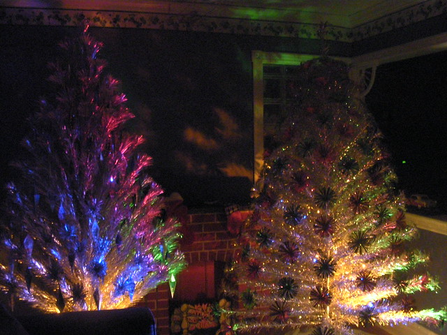 Flickr: The Aluminum Christmas Trees Pool
