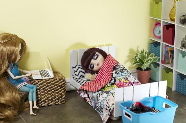 Suri's new room
