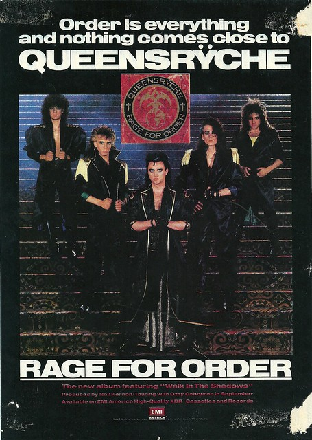 "Queensryche ""Rage For Order"" (Released: 07/14/86)"