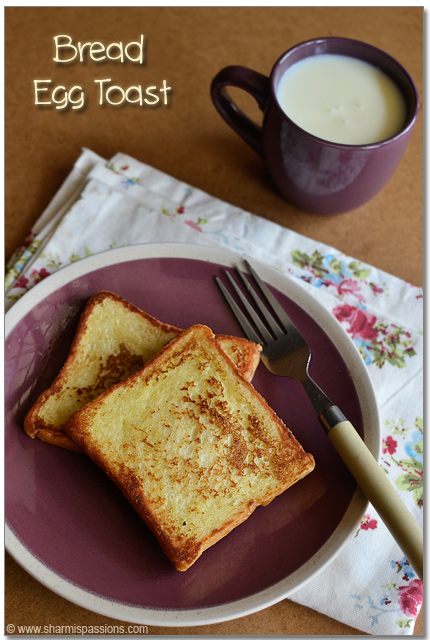 French toast recipe easy bread toastwith eggs sharmis passions french toast recipe ccuart Images