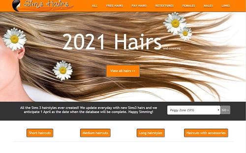 sims hair