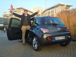 "Opel ADAM ist ""Best Car 2014"""