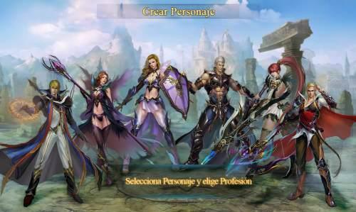 Personajes de Legends Online