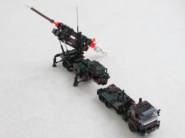 Patriot missile TEL