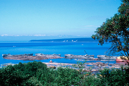Powell River, Malaspina Peninsula, Sunshine Coast, British Columbia, Canada