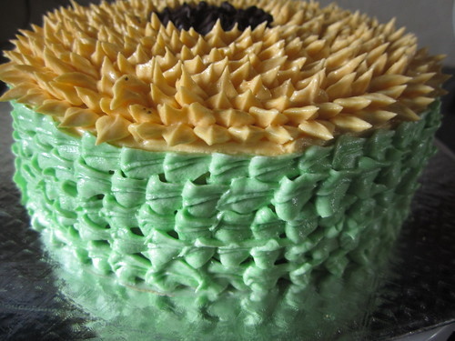 Sunflower Cake Decorating Ideas