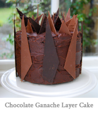 Chocolate Ganache Layer Cake