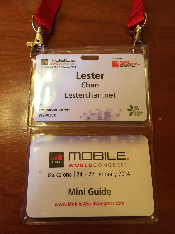 Mobile World Congress 2014 Pass