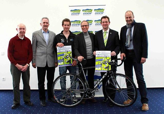 Radsport - GGEW City Cross Cup Lorsch - 03.03.2014 - Pressekonferenz EM Lorsch 2014 - Bensheim