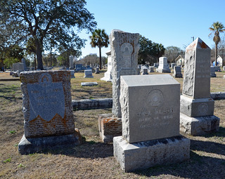 Group of Woodmen of the World graves