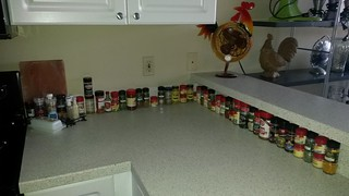 I alphabetized the spices