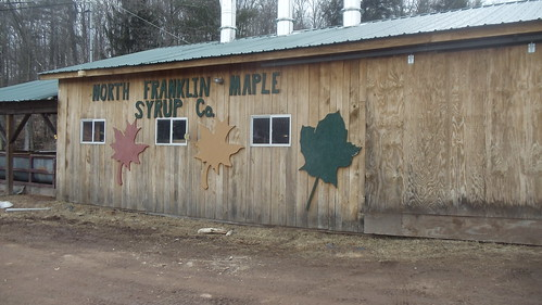 North Franklin Maple Syrup Company: North Franklin, New York (at the Sittco Dairy Farm) by JuneNY