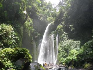 """Jurassic Park"" - Wasserfall auf Lombok"