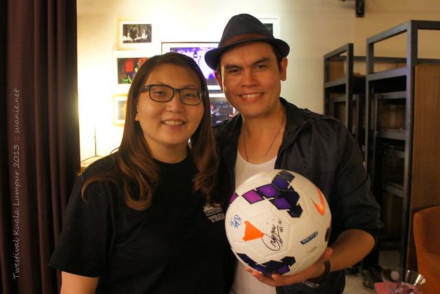 Twestival Kuala Lumpur 2013 - Suanie and Vince Chong