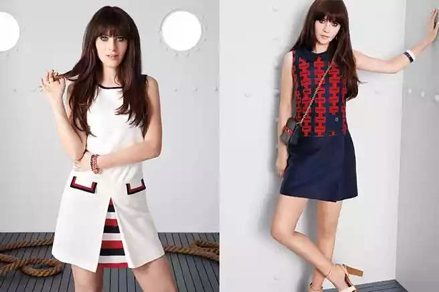 "Zooey Deschanel's ""Modical"" Collection for Tommy Hilfiger"