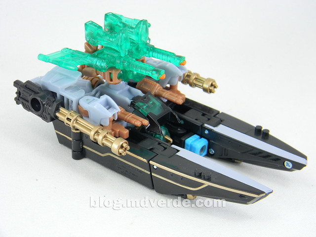 Transformers Undertow con Waterlog Power Core Combiners - modo alterno