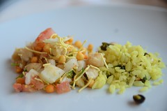 Yamini's Batata Poha and Indian Chaat Chickpe…